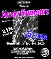 Nasty Rumours + the Butters