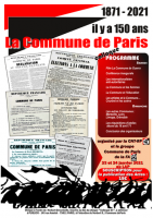 1871 - 2021, il y a 150 ans : la Commune de Paris