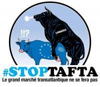 Rassemblements contre l'accord TAFTA