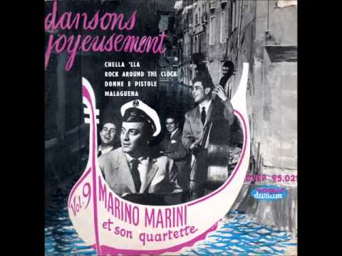 "Marino Marini et son quartette, "" Rock around the clock """